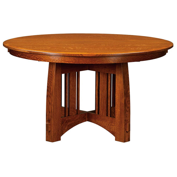 Brookville Single Pedestal Table | Full | Home and Timber