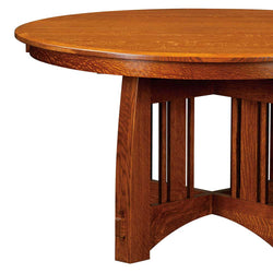 Brookville Single Pedestal Table | Home and Timber