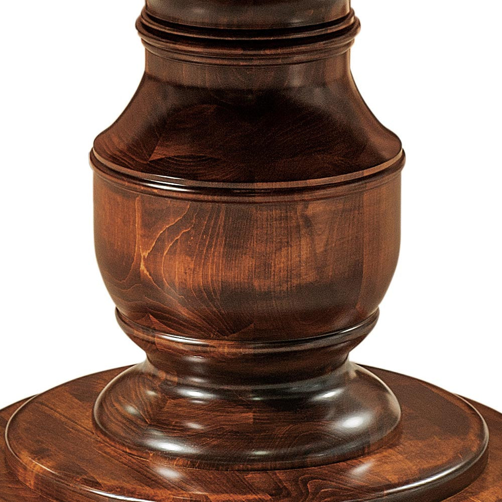 Burlington Single Pedestal | Pedestal Detail | Home and Timber