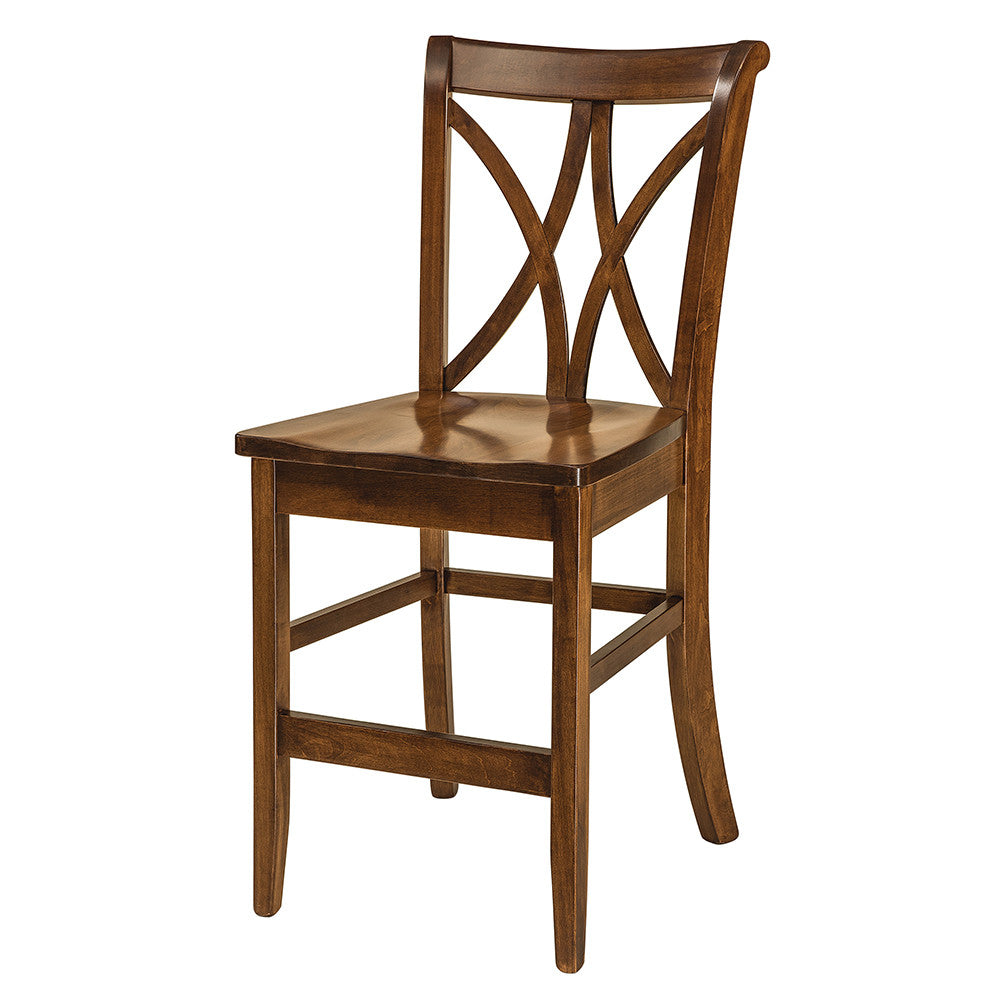 Callahan Solid Wood Bar Chairs by Home and Timber; Callahan Stationary Bar Chair by Home and Timber ...  sc 1 st  Home and Timber & Callahan Solid Wood Bar Chair | Home and Timber islam-shia.org