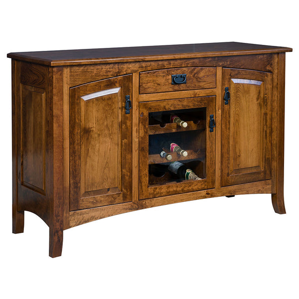 Cambria Sideboard in Rustic Cherry by Home and Timber