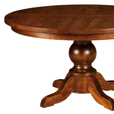 Carson Single Pedestal Table | Home and Timber