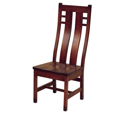 Cascade Side Dining Chair in Quarter Sawn White Oak