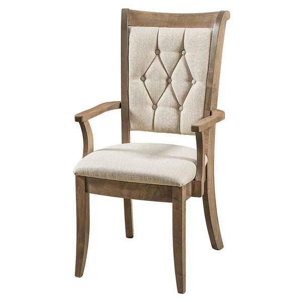 Chelsea Upholstered Arm Dining Chair