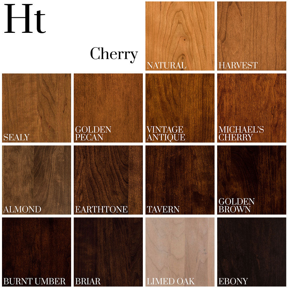 Color Palette on Cherry wood - Home and Timber