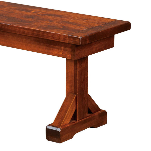 Chesapeake Plank Top Extension Bench Home And Timber