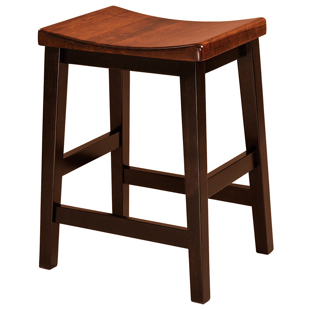 Coby Stationary Bar Stool by Home and Timber