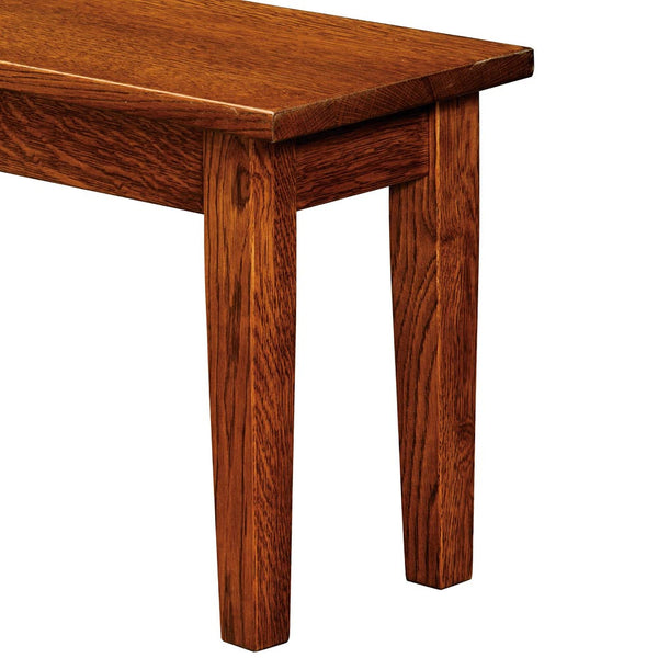 Denver Expandable Dining Bench Detail by Home and Timber