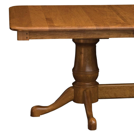 Estate Double Pedestal | Cherry with a Natural Finish | Home and Timber
