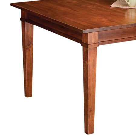 Ethan Leg Table | Cherry with a Michael's Cherry Finish | Home and Timber