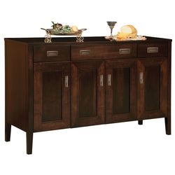Fayette Solid Wood Sideboard by Home and Timber