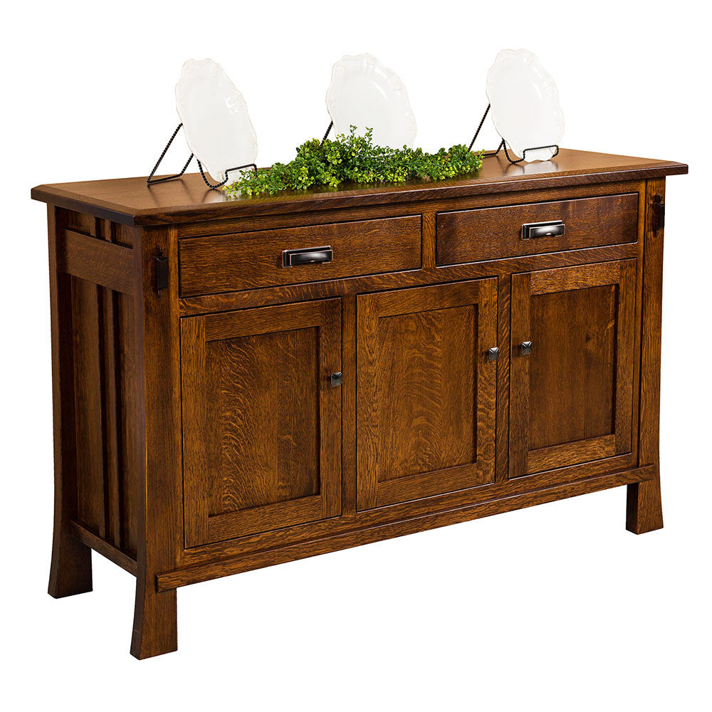 Grant Solid Wood Sideboard by Home and Timber