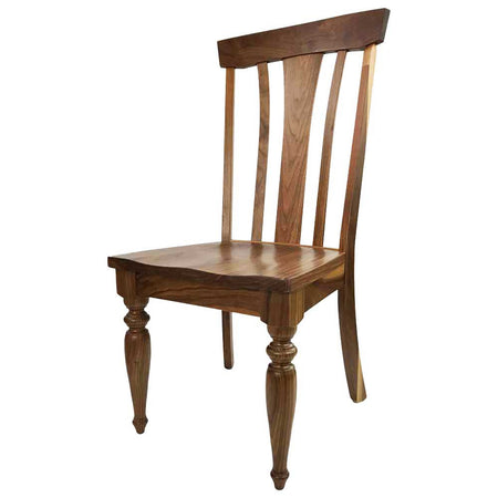 Parkway Side Chair in Natural Walnut | Home and Timber