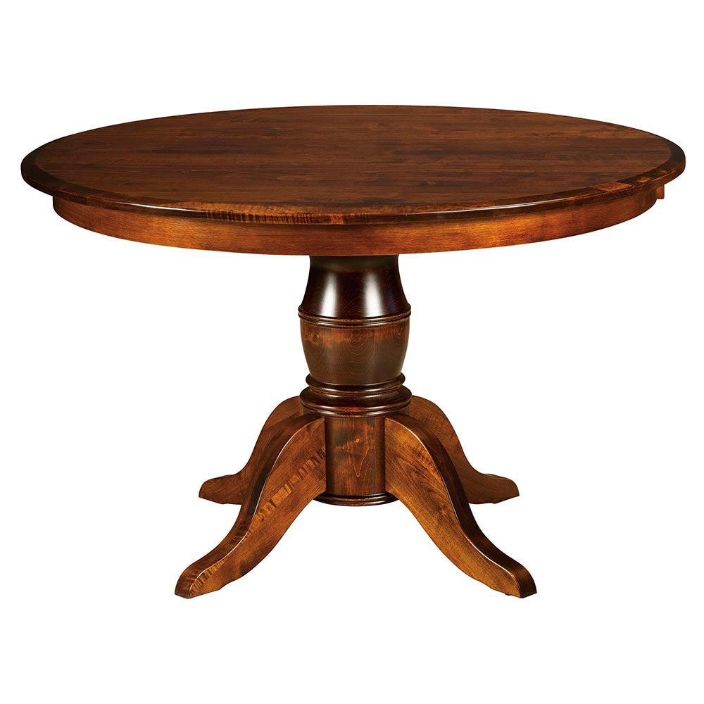 Harrison Expandable Single Pedestal Table | Home and Timber