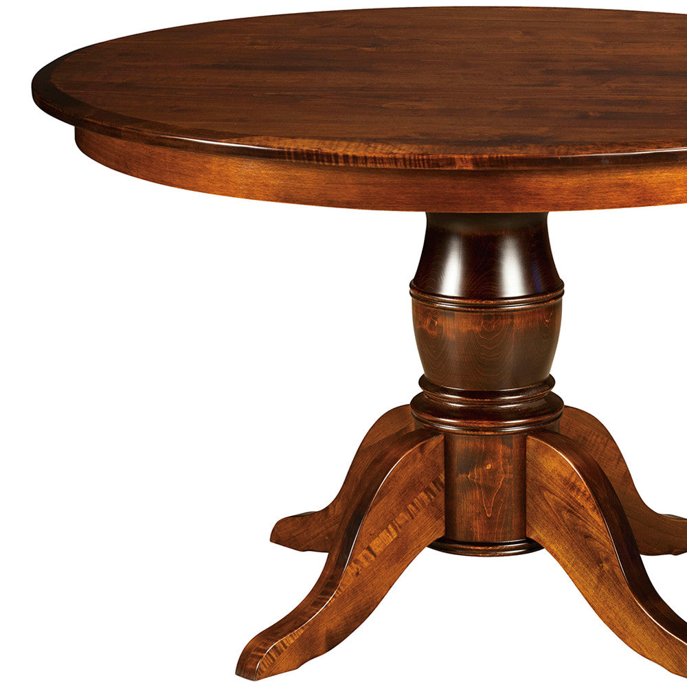 Harrison Single Pedestal Extension Table | Home and Timber