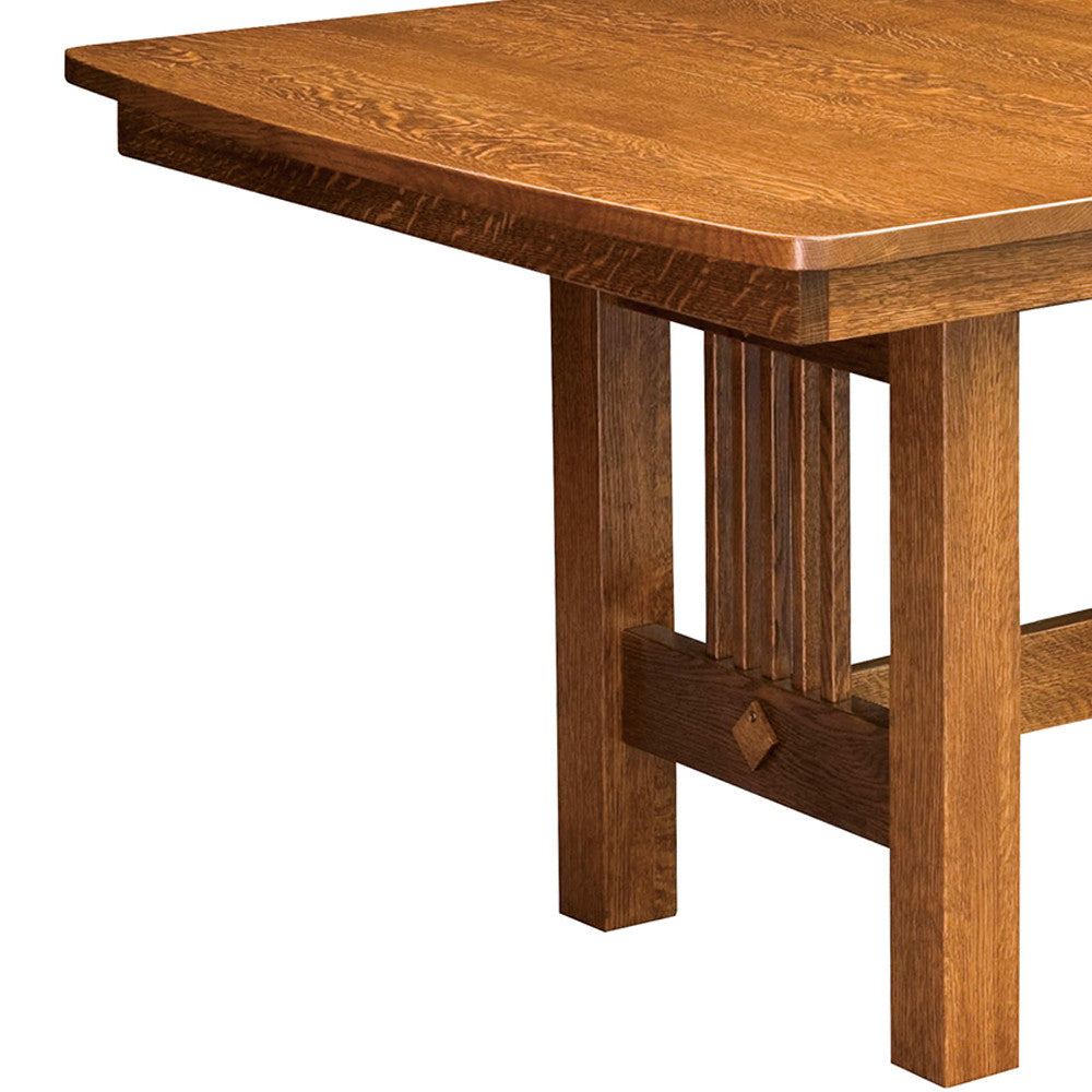 Hartford Trestle Dining Table Home And Timber