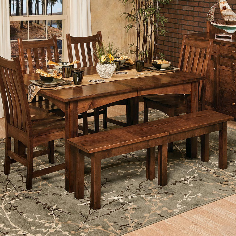 Heidi Expandable Dining Bench and Table | Home and Timber