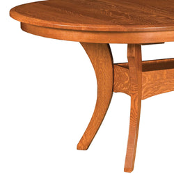 Imperial Double Pedestal Extension Table | Home and Timber