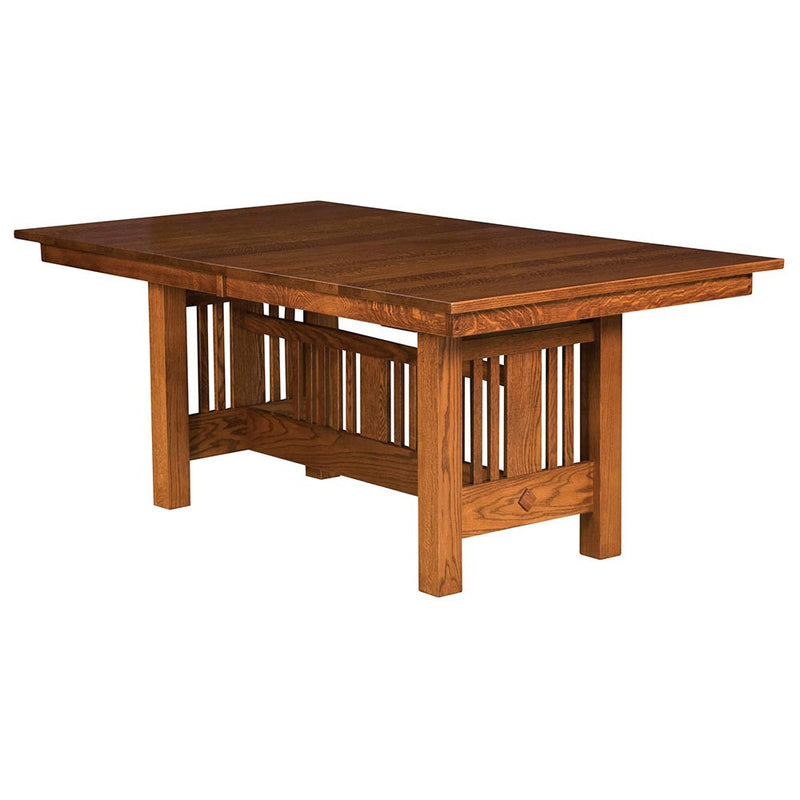 Kingsbury Mission Expandable Trestle Table | Home and Timber