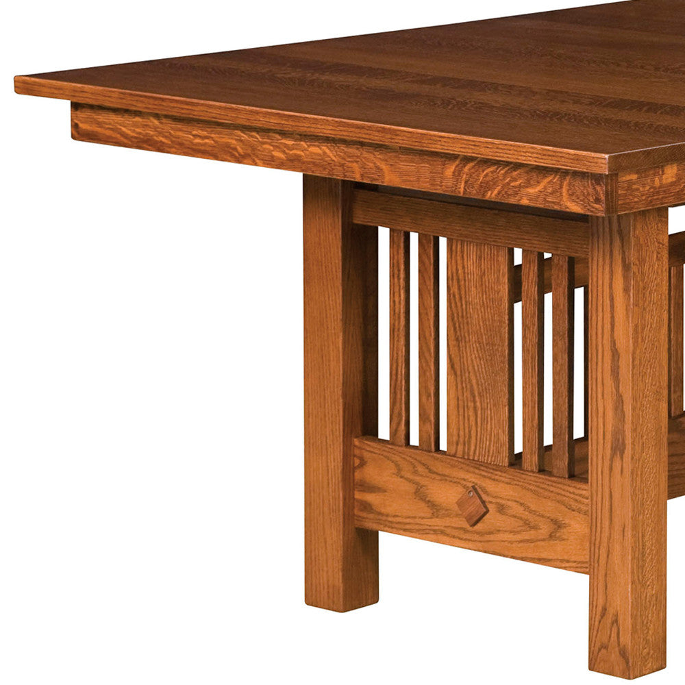 ... Kingsbury Mission Trestle Extension Table | Home And Timber ...