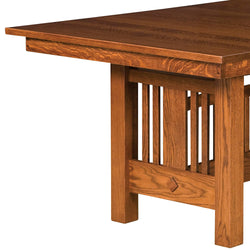 Kingsbury Mission Trestle Extension Table | Home and Timber