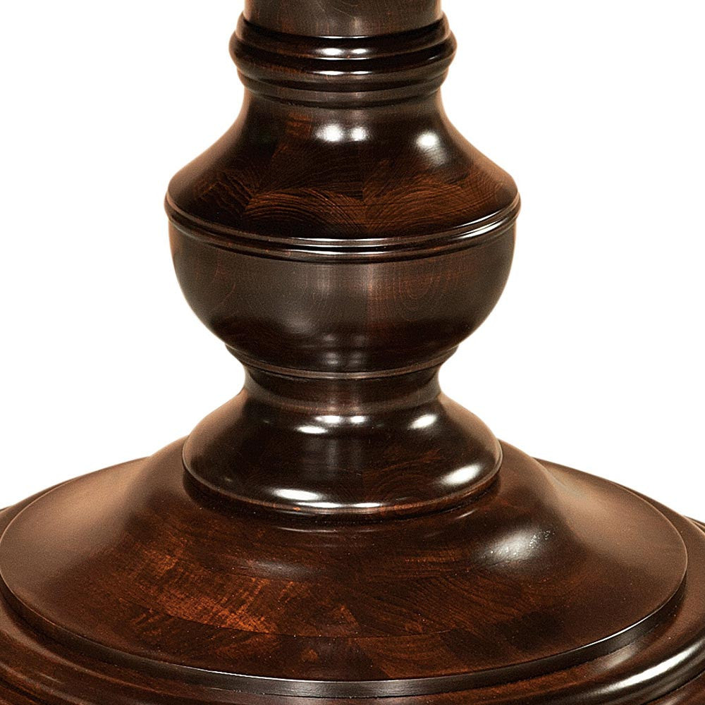 Kingsley Single Pedestal | Base Detail | Home and Timber