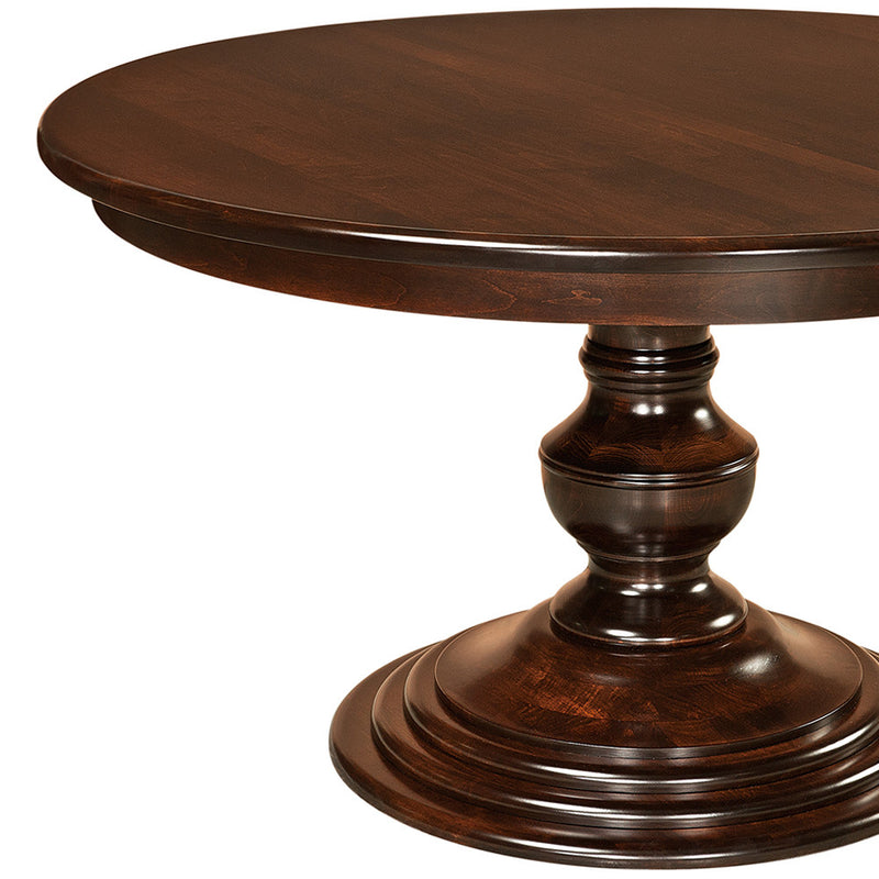 Kingsley Single Pedestal Extension Table | Home and Timber