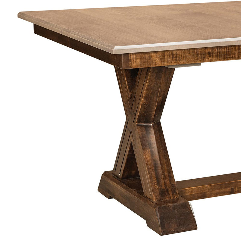 Knoxville Trestle Table by Home and Timber