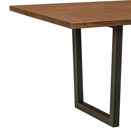 Live Edge Tables. Lifestyle Trestle Table By Home And Timber
