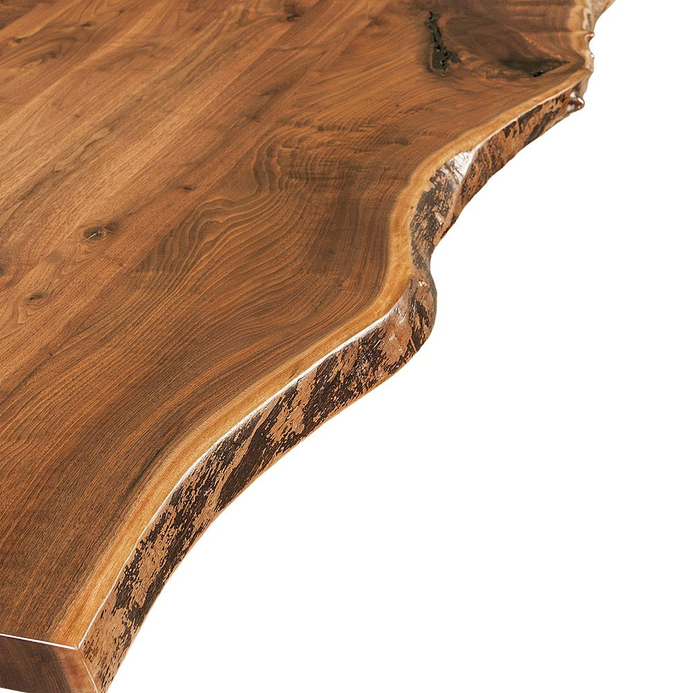 Black Walnut Live Edge Detail | Home and Timber