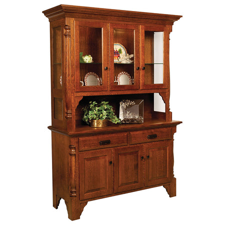 Mattina Solid Wood Hutch by Home and Timber