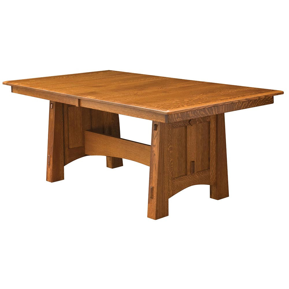 McCoy Expandable Trestle Table | Home and Timber