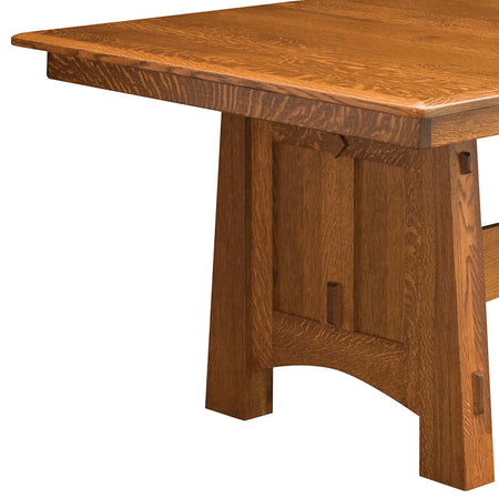 McCoy Trestle Dining Table | Home and Timber