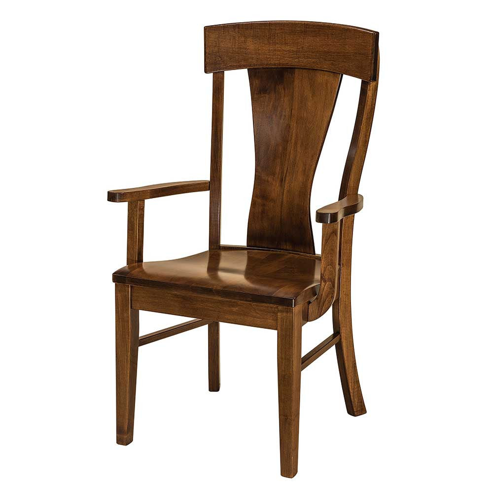 Ramsey Arm Dining Chair by Home and Timber