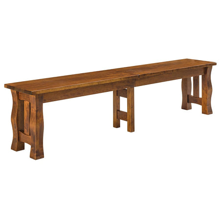 Reno Expandable Dining Bench by Home and Timber