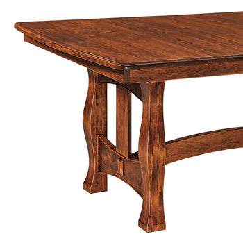 Reno Trestle Table by Home and Timber
