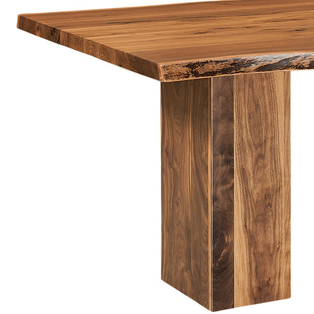 Rio Vista Live Edge Trestle Table | Home and Timber