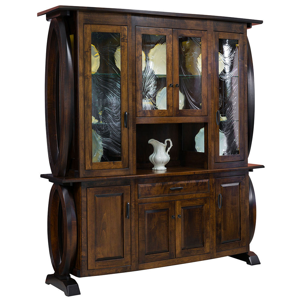Saratoga 4 Door Buffet or Hutch by Home and Timber