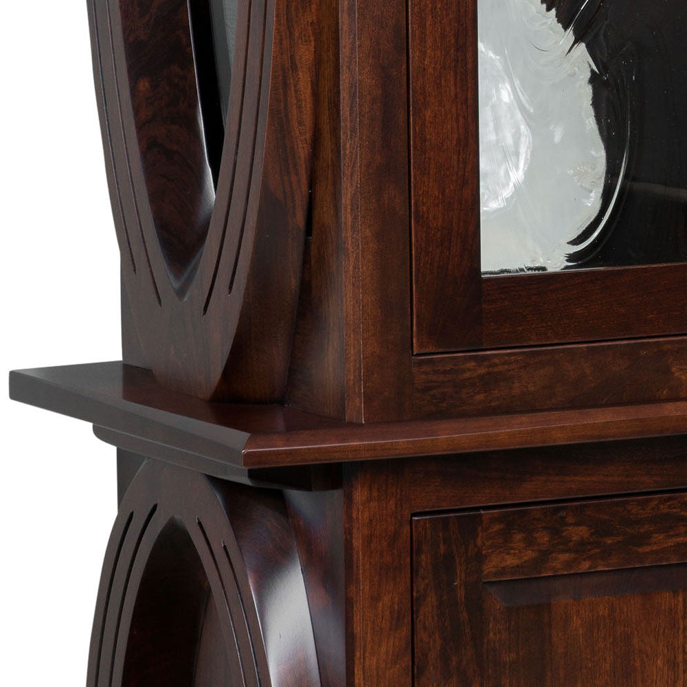 Saratoga Buffet and Hutch Detail by Home and Timber