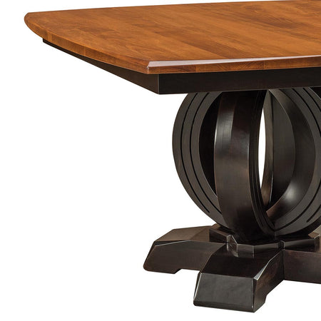 Saratoga Expandable Single Pedestal Table by Home and Timber