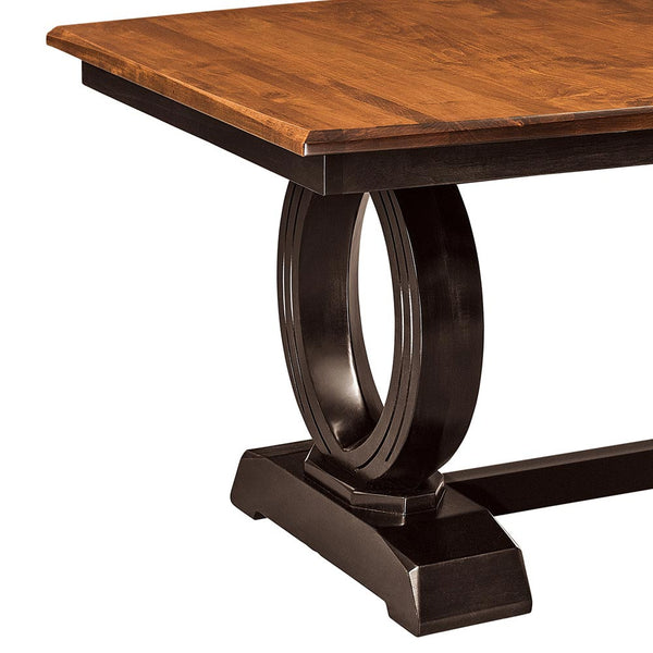 Saratoga Expandable Trestle Table by Home and Timber