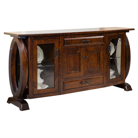 Saratoga 4 Door Sideboard by Home and Timber