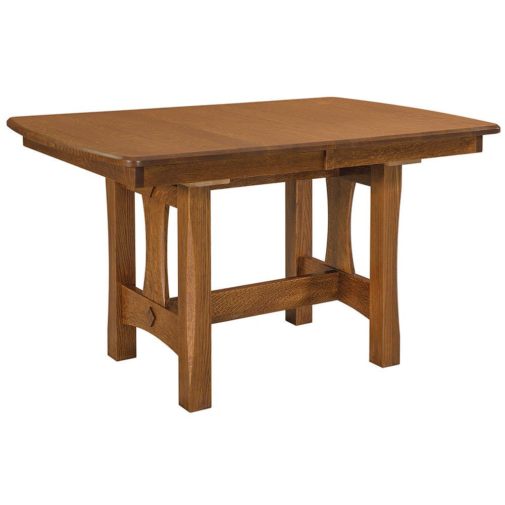 Sheridan Trestle Dining Table by Home and Timber
