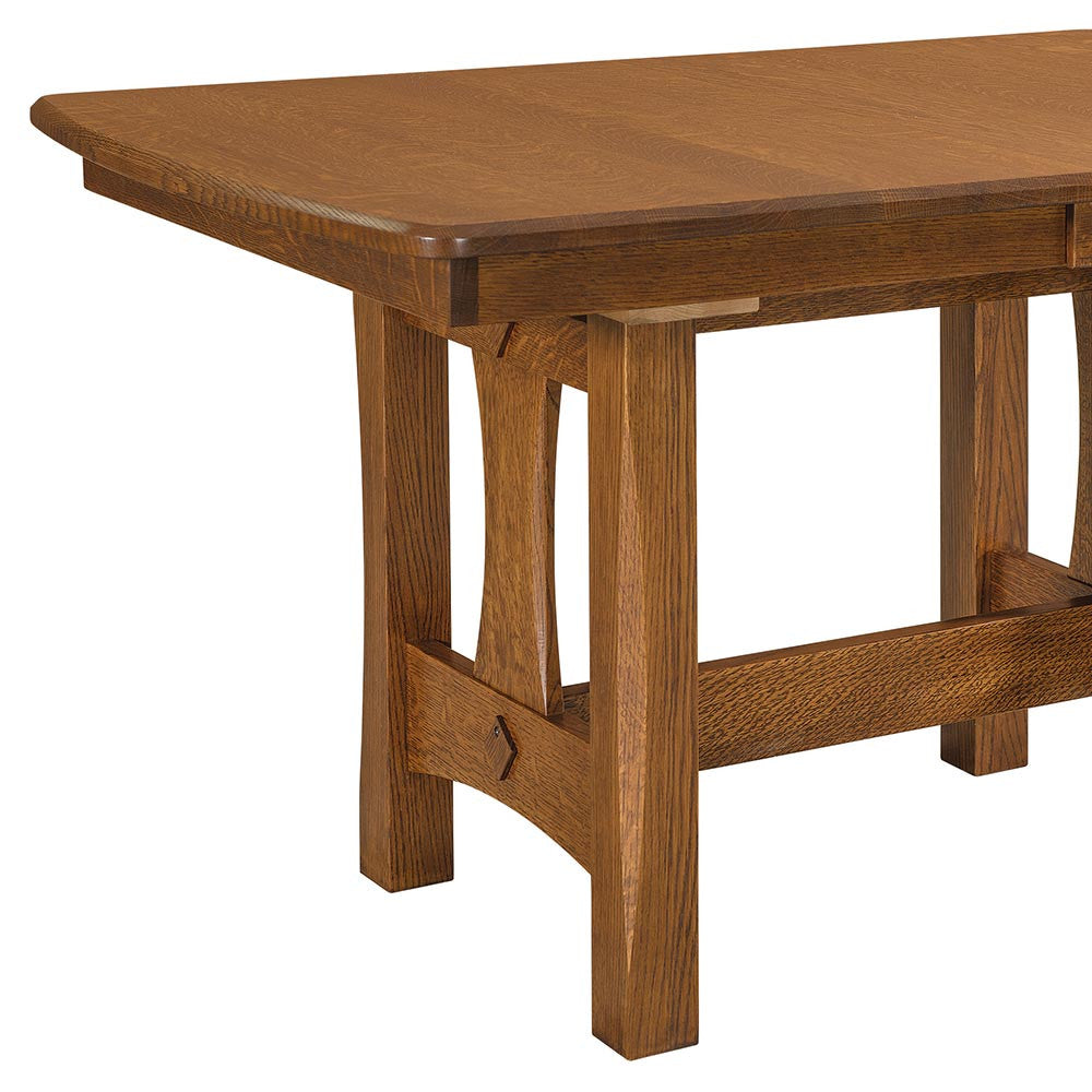 Sheridan Trestle Table by Home and Timber