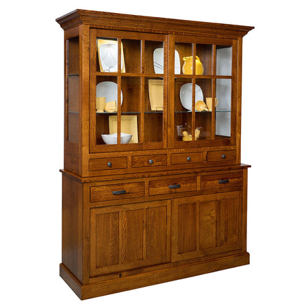Sherwood Solid Wood Hutch by Home and Timber