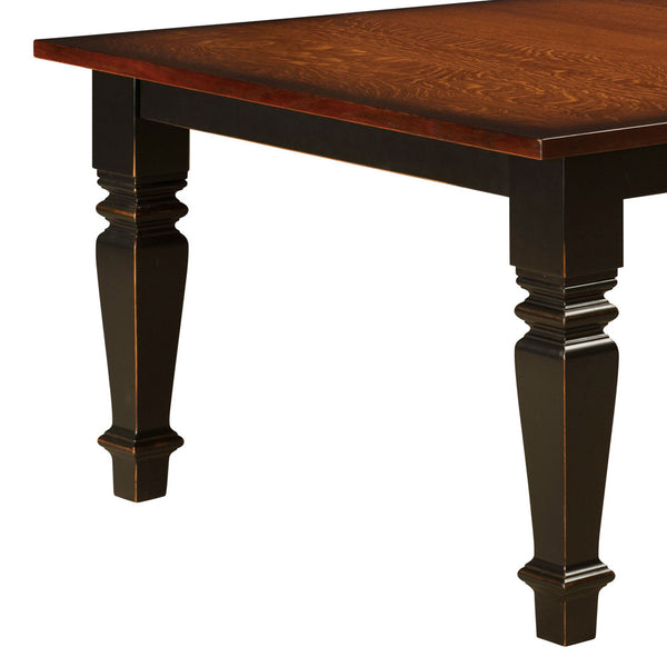 Stanwood Leg Table - Table Detail