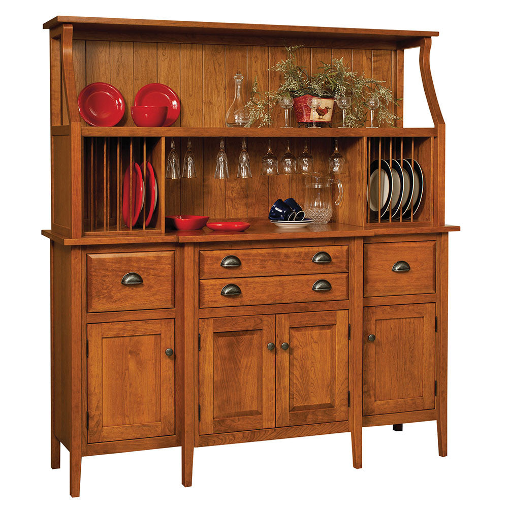Stowell Solid Wood Hutch by Home and Timber
