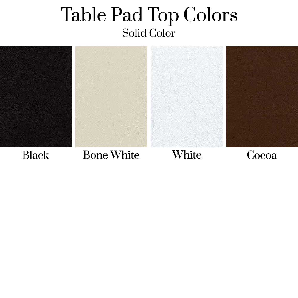 Table Pad Top Colors - Solid Colors