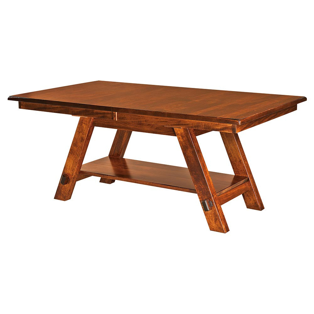 Timber Ridge Expandable Trestle Table | Home and Timber