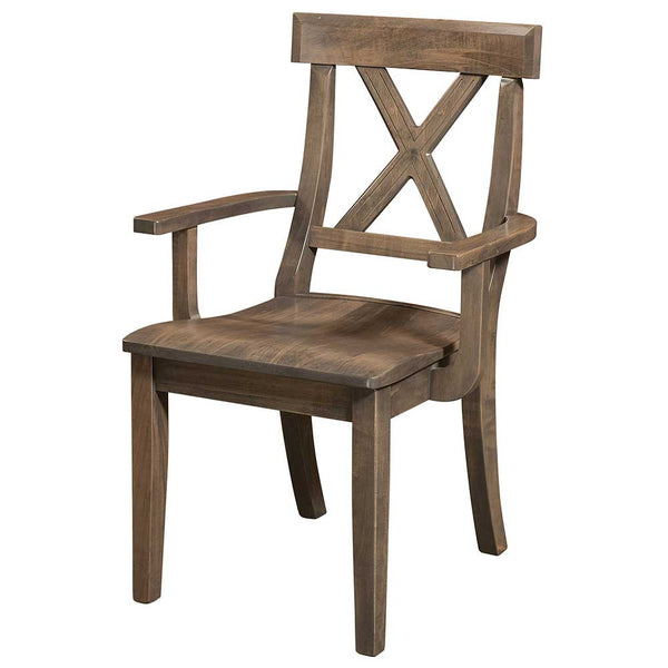 Vornado Arm Dining Chair by Home and Timber